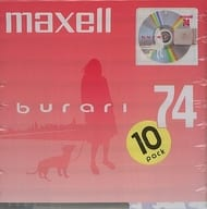 Hitachi Maxell Recording Mini Disc burari 74 min. 10 Disc Pack [BUMD74.10P]