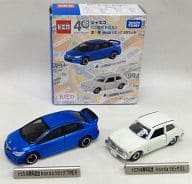 "Honda Civic 2 cars set ""2nd generation Tomica 1st edition"" JUSCO special order model"