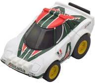 Choro Q Zero Z - 30a Lancia Stratos Rally (White × Green) [275084]