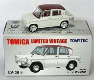 1/64TLV-28b Mazda Carol(White X Maron)「多美卡有限公司复古」[210528]
