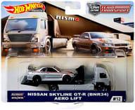 """1/64 AERO LIFT & NISSAN SKYLINE GT-R BNR34 """"Hot Wheels TEAM TRANSPORT"""" [FYT10]"""