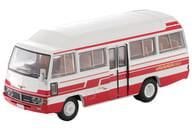 """1/64 LV-184b Toyota Coaster High Roof Deluxe Car (White x Red) """"Tomical Limited Vintage"""" [302247]"""