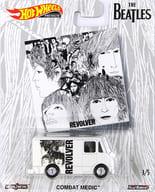 COMBAT MEDIC REVOLVER (White x Black) 「 Hot Wheels THE BEATLES 」 [FYN97-4B10]
