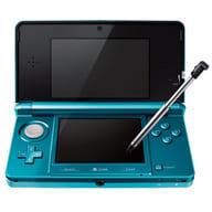 (無包裝盒及說明書)任天堂3DS主機Aqua Blue(盒子·無說明書)