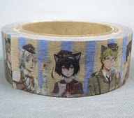 All members gathered at 「 BUNGO STRAY DOGS : Namja town Letter from the Past Masking Tape 」