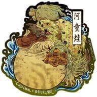 Yotsumiwado Ukiyoe CAPCOM×B-SIDE LABEL Sticker 「 Monster Hunter 」