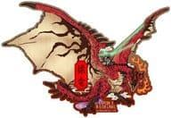 Zuryu Ukiyoe CAPCOM×B-SIDE LABEL Sticker 「 Monster Hunter 」