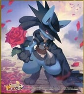 "Halloween Lucario (2) Shikishi ""Pokémon"" Pokemon Center Halloween Campaign Shopping Bonus"