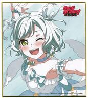 氷川日菜 ミニ色紙(Pastel*Palettes) 「BanG Dream! FILM LIVE」 2週目入場者プレゼント