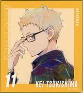 TSUKISHIMA HOTARU 「 Haikyu! TO THE TOP TRADING ANI-ART, No. 5, Mini Shikishi 」