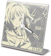 シャロ 卓上時計 「ご注文はうさぎですか?」