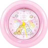 ぴお or Park (pink) round alarm clock 「 Sumikko Guri 」