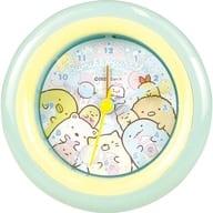 ぴお (Park Blue) round alarm clock 「 Sumikko Guri 」