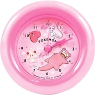 Colors (Pink) Round Alarm Clock 「 Pocket Monsters 」