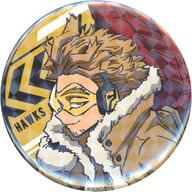 Hawks 「 MY HERO ACADEMIA Trading Hologram metal badge (standby) 」