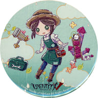 Emma Woods 「 Identity V Fifth Personality ×GraffArt Rainy garden in Shinjuku Marui Annex metal badge Graph Art Design 」