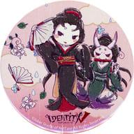 Geisha (Michiko) 「 Identity V Fifth Personality ×GraffArt Rainy garden in Shinjuku Marui Annex metal badge Graph Art Design 」