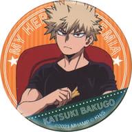 爆豪 Katsumi 「 MY HERO ACADEMIA THE MOVIE World Heroes Mission Trading metal badge A 」 Theater Goods