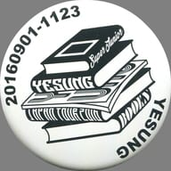 Yesung metal badge 「 SUPER JUNIOR-YESUNG JAPAN TOUR 2016 ~ BOOKS ~ 」 E. L. F-JAPAN limited goods Purchase benefits