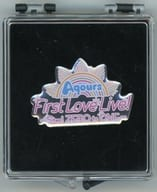 """AQOURS Memorial Pins """"Love Live! Sunshine !! AQOURS First LoveLive! ~ Step! ZERO to ONE ~"""""""
