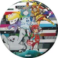 Dempagumi.inc metal badge 「 CD GOGO DEMPA 」 Tower Record Special Offer