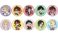 "All 10 types set ""Saiyuki RELOAD BLAST collage line can badge"""