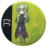 """C.C. """"Code Geass Lelouch of the Rebellion III Imperial Road Black Knights Graph Art Design Can Badge"""""""