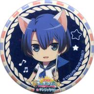 """HIjirikawa Masato """""""" Theatrical Edition Uta no Prince-sama Maji Love Kingdom in Namjatown Kirakira Can Badge Collection SHINING Ver. """""""""""