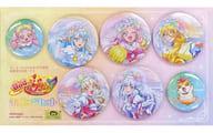 集合 缶バッジセット(7個組) 「HUGっと!プリキュア」 アニメージュ2019年1月号増刊 応募者全員サービス