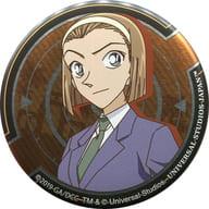 Sonoko Suzuki 「 Detective Conan World Collectible metal badge 」 Universal Studio Japan 2019 only