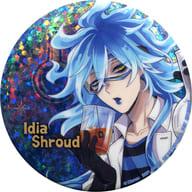 Idia Shroud metal badge ~ Alchemy ~ vol. 2 「 Disney: Twisted-Wonderland 」 Namco limited