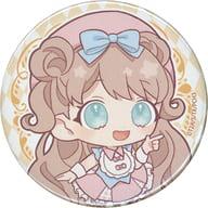 Maria KANAMORI 「 Kiratto Pri Chan metal badge 10. Wonderland ver. Mini Character 」