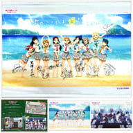 Aqours (Is your heart shining?) B2 Tapestry 「 Love Live! Sunshine! 」 Ura no Hoshi Jogakuin Purchasing Department Official Memorial Item #13