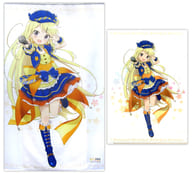 [With Special Gift] Drawing of Karen Kujo Real Size Tapestry 「 Kin-iro Mosaic Pretty Days 」 C95 Goods