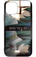 Mion Sonozaki & Shion Sonozaki When They Cry Reinforced Glass iPhone Case / 12 / 12 Pro Shared 「 WHEN THEY CRY Sotsu 」