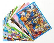 イナズマイレブン歴代版権 イラストポストカード16種 「イナズマイレブン」 アニメージュ2014年6月号付録