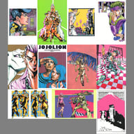 JOJO'S BIZARRE ADVENTURE Postcard Moriocho Set B 「 Hirohiko Araki Original Art Exhibition JoJo Exhibition 」