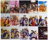 [A la carte] Set of 15 postcards 「 3 ds Soft Ace Attorney 1-6 E Capcom limited edition BOX & POSTCARD SET 」 included special bonus