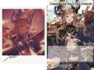 """Thorn Illustration Card & Postcard """"GRANBLUE FANTASY-Granblue Fantasy-"""" 2020 Valentine White Day Campaign"""