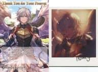 Lucifer Illustration Card & Postcard 「 GRANBLUE Fantasy Granblue Fantasy 」 2020 Valentine's Day Campaign