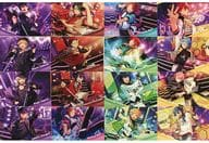 UNDEAD & Kogetsu & 2 wink & Switch & Crazy : B Postcard Set C 「 Ensemble Stars! × LAWSON 」 Loppi HMV & BOOKS online only