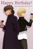 Kotomine Kirei & Gilgamesh Postcard 「 Theater Fate/stay night [Heaven's Feel] 」 Special Menu Order Special