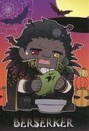 Bather Car Halloween Postcard 「 Theater Fate/stay night [Heaven's Feel] x Gusset ★ Asobi Cafe ni Kyara Halloween Event 」 Limited Menu Special Order