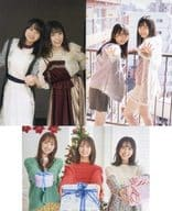 Hinatazaka46 Postcard 3-Pack Monthly Young Magazine 2021 No. 1 Appendix