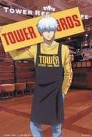 Gintoki Sakata post card 「 GINTAMA ×TOWER RECORDS CAFE 」 1 st collaboration menu order privilege