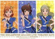 Kana Yabuki & Nao Yokoyama & Tomo Toji Ko (Loco) Special Postcard 「 idol Master Million Live! Shea studies 3.9 Anniversary in Akihabara 」 Stores Purchase benefits