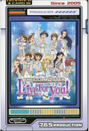 Gathering (idol Master Live For You) Postcard 「 THE IDOLM@STER GRE @ TEST MEMORIES CAFE in Ani ON STATION 」 collaboration menu order privilege