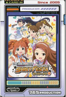 Set (idol Master Shiny Festa Funky Note) post card 「 THE IDOLM@STER GRE @ TEST MEMORIES CAFE in Anime ON STATION 」 collaboration menu order privilege