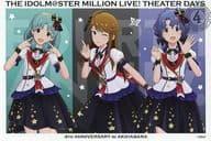 Tokugawa Matsuri & Emi Sho & Toyokawa Fuka's special postcard 「 idol master MILLION LIVE! Shea ターデイズ 4 th ANNIVERSARY in Akihabara 」 target product Purchase benefits