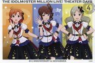 Yabuki Kana & Yokoyama Nao & Tomo Toji Ko (Loco) special postcard 「 idol Master MILLION LIVE! Shea ターデイズ 4 th ANNIVERSARY in Akihabara 」 target product Purchase benefits